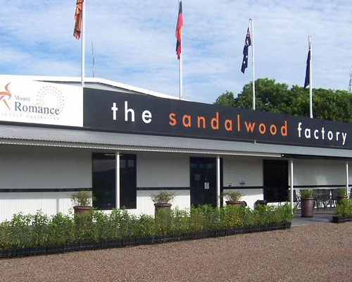 The Sandalwood Shop and Cafe